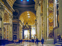 St.Peter's Basilica, Rome Royalty Free Stock Photography