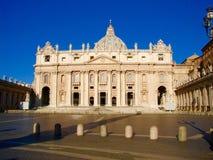 St. Peter S Basilica, Rome, Italy Stock Photo