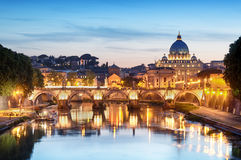 St. Peter's Basilica, Rome - Italy Royalty Free Stock Photography