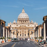 St. Peter's Basilica, Rome - Italy Stock Photography