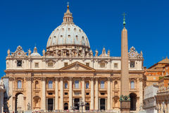 St.Peter`s Basilica. Rome Stock Images
