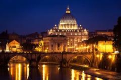 St. Peter's Basilica Rome Stock Photos
