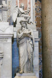 St. Peter's Basilica sculpture , Vatican, Italy Royalty Free Stock Photo