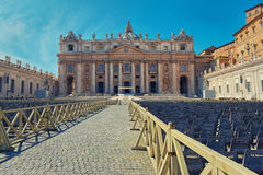 St. Peter's Basilica Stock Photography