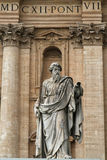 St. Peter's Basilica statue Royalty Free Stock Photos