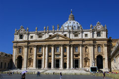 St. Peter's Basilica in Vatican Royalty Free Stock Images