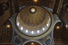 St. Peter\'s Basilica in Vatican City Stock Image