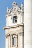 St. Peter's Basilica, Vatican City detail Stock Photos