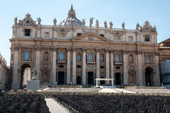 St. Peter's Basilica in Vatican City Royalty Free Stock Photography
