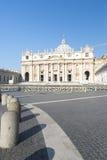 St. Peter's Basilica Vatican City Stock Photo