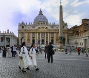 St Peter's Basilica, Vatican City Stock Photography