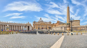 St. Peter's Basilica at Vatican city, Rome, Italy Royalty Free Stock Photo