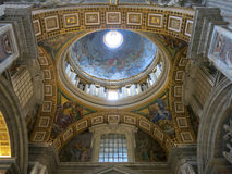 St. Peters Basilica, Vatican City Stock Images
