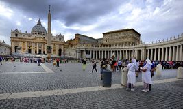St Peter's Basilica, Vatican City Royalty Free Stock Photos