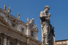 St. Peter's Basilica Vatican City Stock Photography