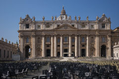 St. Peter's Basilica Vatican City Royalty Free Stock Image