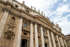 St. Peter s Basilica in Vatican Royalty Free Stock Image
