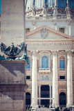 St Peter's Basilica, Vatican Stock Images