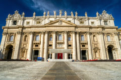 St. Peter's Basilica in Vatican, Rome Stock Photo