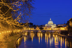 St. Peter's Basilica in Vatican Stock Photography