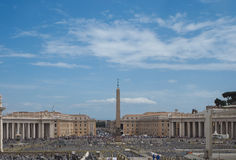 St. Peter's Basilica, Vaticano, Roma, Italiy Stock Images