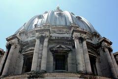 St Peter ` s Basiliek, de Stad van Vatikaan, Rome Stock Fotografie