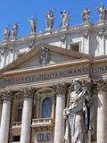 St Peter ` s Basiliek, de Stad van Vatikaan, Rome Royalty-vrije Stock Foto