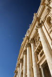 St Peter ` s bazyliki fasada fotografia royalty free