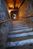 St. Peter's Catacombs, Salzbur. Steps leading to St. Peter's Catacombs, Salzburg, Austria Stock Photography