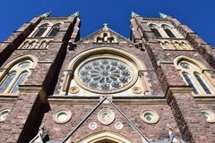 St Peter's Cathedral Basilica in London, Ontario Canada Stock Image