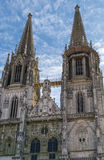 St. Peter's Cathedral, Regensburg, Germany Stock Images