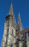St. Peter's Cathedral, Regensburg, Germany Royalty Free Stock Photo