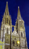 St. Peter's Cathedral, Regensburg, Germany Royalty Free Stock Images