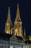 St. Peter's Cathedral, Regensburg, Germany Royalty Free Stock Photos