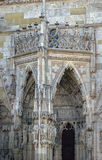 St. Peter's Cathedral, Regensburg, Germany Stock Image