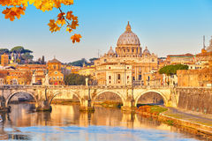 St. Peter's cathedral in Rome Stock Photography