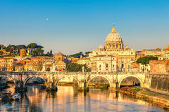 St. Peter's cathedral in Rome Royalty Free Stock Photography