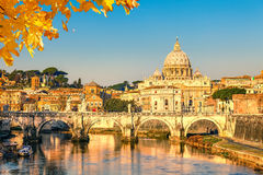 St. Peter's cathedral in Rome Royalty Free Stock Images