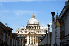 St Peter 's cathedral - Vatican - Rome - Italy Stock Photos