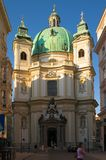 St. Peter's Cathedral in Vienna Stock Photography