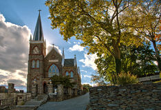 St. Peter's Catholic Church in Harpers Ferry, West Virginia Stock Photos
