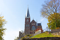 St. Peter`s Catholic Church in Harpers Ferry, West Virginia, USA. Stock Photo