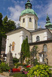 St. Peter's Cemetery (Salzburg) Royalty Free Stock Photo
