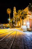 St. Peter's Church is a Franciscan Church in Jaffa, part of Tel Aviv, in Israel. Stock Photos