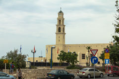 St. Peter's Church is a Franciscan Church in Jaffa Stock Images