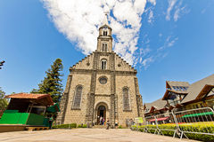 St. Peter's church. Gramado city, Rio Grande do Sul - Brazil Stock Photography