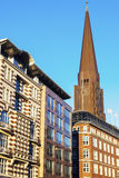 St. Peter`s Church in Hamburg Royalty Free Stock Image