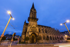 St Peter S Church In Caen Stock Photography