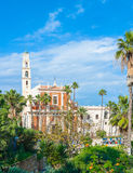 St. Peter's Church in Jaffa Royalty Free Stock Photos