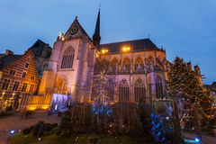 St. Peter`s Church in Leuven Stock Photography
